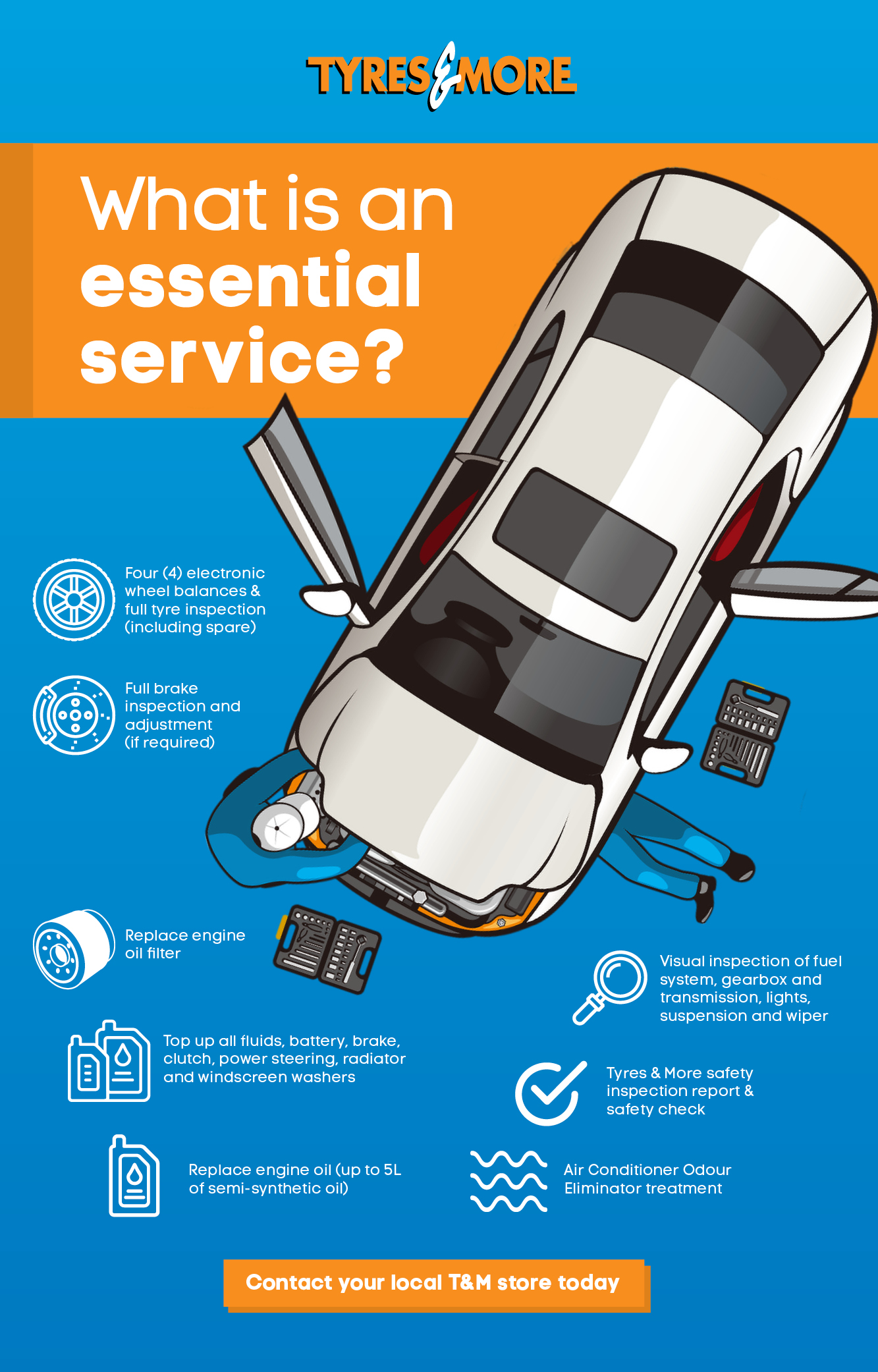 T&M Essential Mechanical Servicing