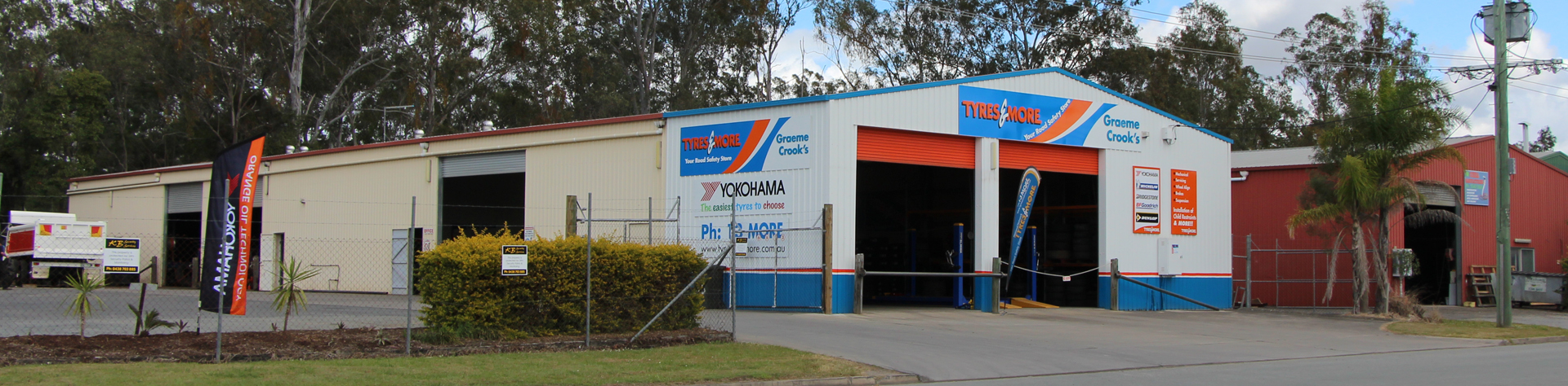 Graeme Crooks Tyres & More Logan Village Store Image