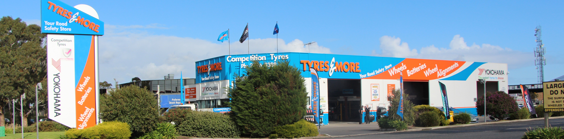 Competition Tyres & More Hallam store image
